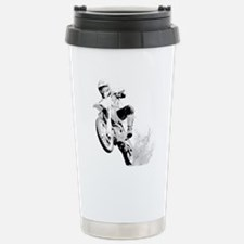 Dirtbike Wheeling In Travel Mug