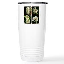 Dandelion Collage Travel Mug