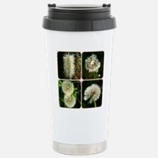 Dandelion Collage Travel Mug