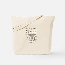 Lord, give me coffee Tote Bag