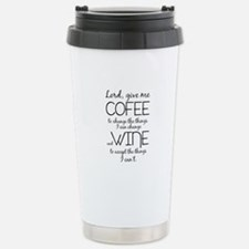Lord, give me coffee Travel Mug