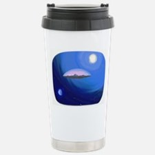 Flat Earth Travel Mug