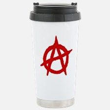 Anarchist 1 (red) Stainless Steel Travel Mug