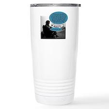 The greedy psychoanalys Travel Coffee Mug