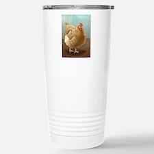 Buff Orpington Hen Travel Mug
