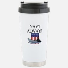 Navy Always Travel Mug
