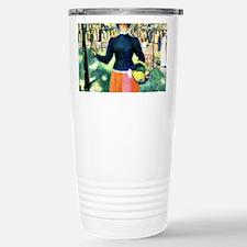 Malevich - Flowergirl Travel Mug
