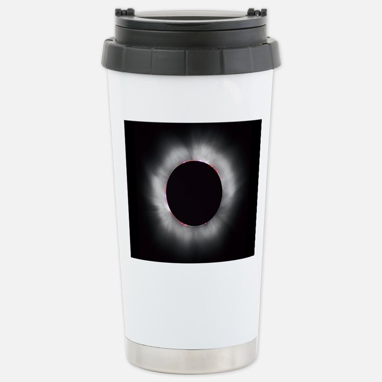 Total Solar Eclipse 199 Stainless Steel Travel Mug