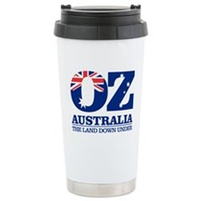 Australia (OZ) Stainless Steel Travel Mug
