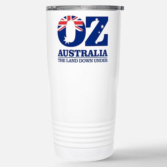 Australia (OZ) Stainless Steel Travel Mug