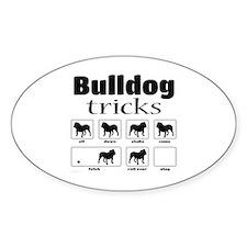 Bulldog Tricks Decal