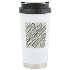 Intricate Doodle Abstra Travel Coffee Mug