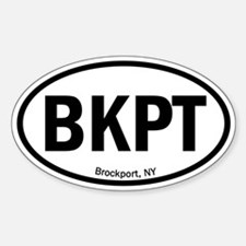 Euro Oval Decal - BKPT Decal