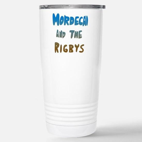 Mordecai And The Rigbys Stainless Steel Travel Mug