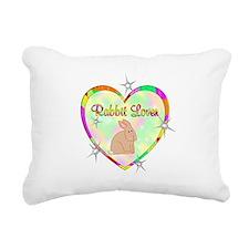 Rabbit Lover Rectangular Canvas Pillow
