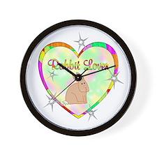 Rabbit Lover Wall Clock