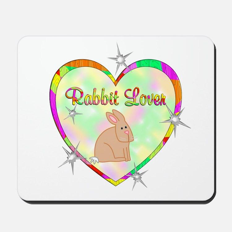 Rabbit Lover Mousepad
