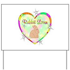 Rabbit Lover Yard Sign