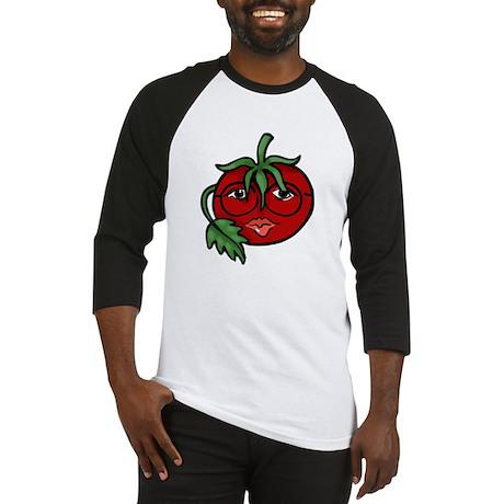 Tomato Face Baseball Jersey