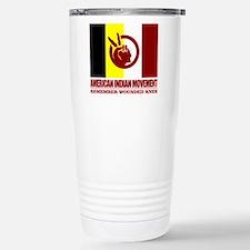 American Indian Movement Travel Mug