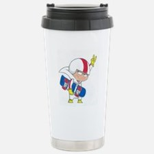 kick buttowski Travel Mug