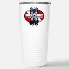 Born To Dive (ST) Travel Mug