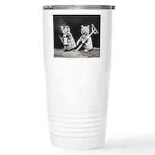 Kittens At Work Travel Mug