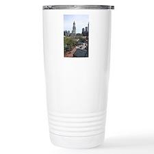 Quincy Market in April Travel Mug