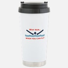 Cute Competitive swimming Travel Mug