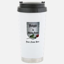 Knight In Shining Armor Stainless Steel Travel Mug