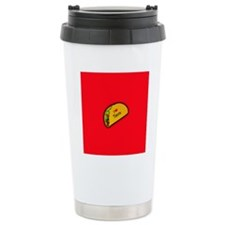I Love Tacos - red back Travel Mug