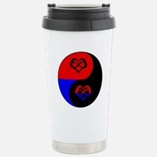Polyamorous Yin and Yan Travel Mug