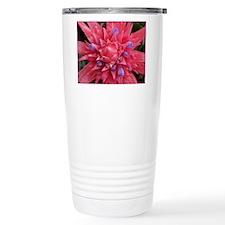 Bromeliad Blossom Travel Coffee Mug