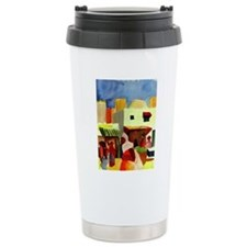 Macke - Market in Algie Travel Mug