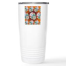 Sugar Skulls Travel Coffee Mug