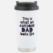 Awesome Dad Travel Mug