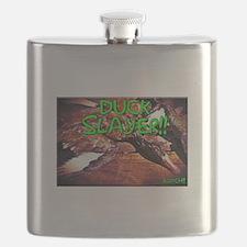 Funny Duck dynasty Flask