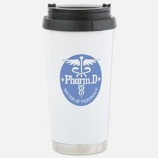Caduceus Pharm.D Stainless Steel Travel Mug