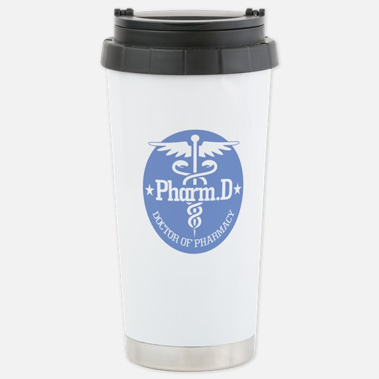 Caduceus Pharm.D Stainless Steel Travel Mug