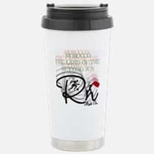 Morocco the Land of the Stainless Steel Travel Mug