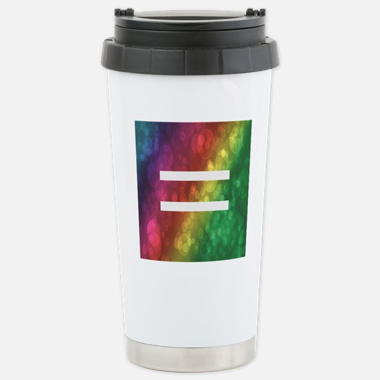 Equalrights1 Stainless Steel Travel Mug