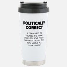 Politically Correct Pansies Thermos Mug