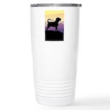 Puggle Purple Mountains Travel Mug