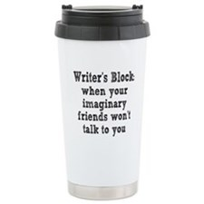 writers-block3.png Travel Mug