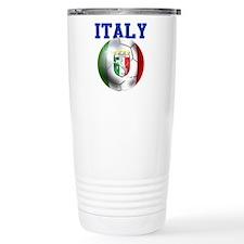 Italy Soccer Ball Travel Mug