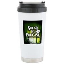Green Logo Travel Mug