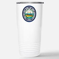 New Hampshire Seal Travel Mug