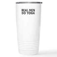 REAL MEN DO YOGA Travel Mug