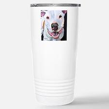 Charlie The Pitbull Dog Travel Mug