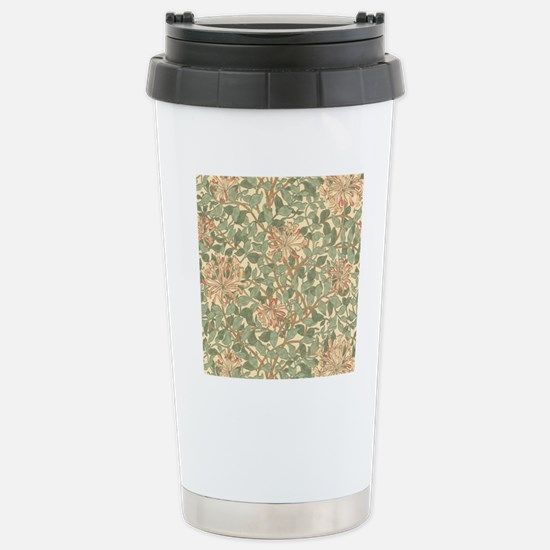 William Morris Honeysuc Stainless Steel Travel Mug